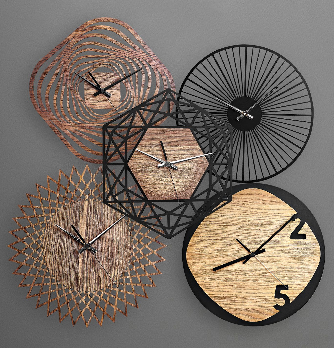 Moku Design Wooden Wall Clocks Wall Clock Design Silver Wall Clock Wood Wall Clock