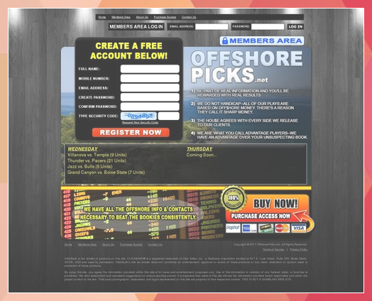 Sports betting service plays betting games in golf