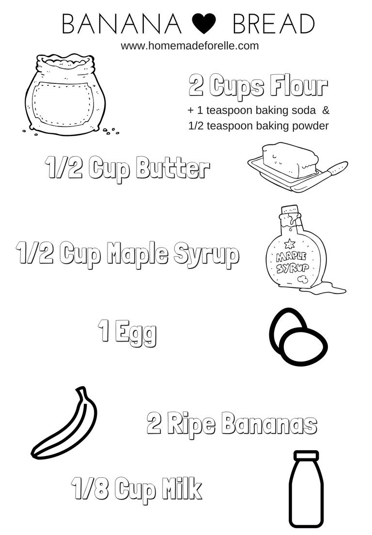 Organic Banana Bread