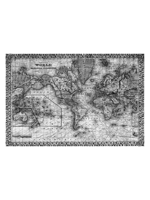 Mercator (Acrylic)