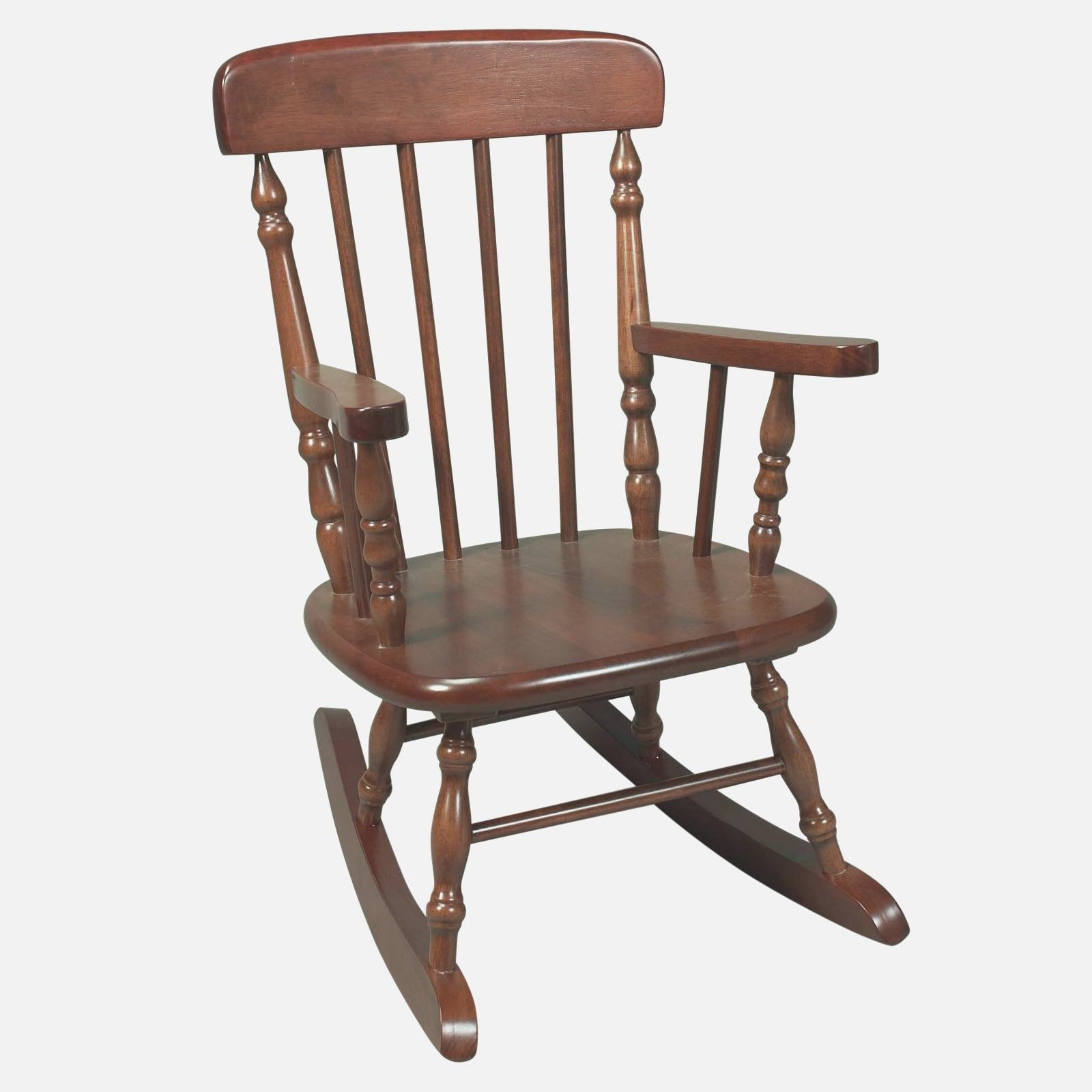 Wooden Indoor Rocking Chairs Black Wooden Indoor Rocking Chair