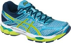 ASICS GEL-Cumulus® 16 - Turquoise/Sharp Green/Navy with FREE Shipping & Returns. The award-winning GEL-Cumulus® series just keeps getting better, with