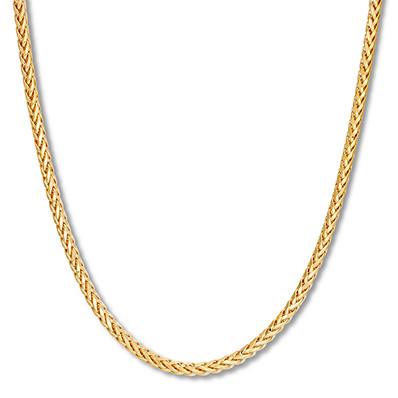 7955c283e39 Men's Franco Chain Necklace 10K Yellow Gold 24