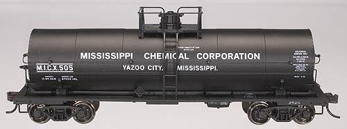 Atlas Ho 1075 2 1 000 Gal Tank Car Mississippi Chemical Mississippi Yazoo O Train