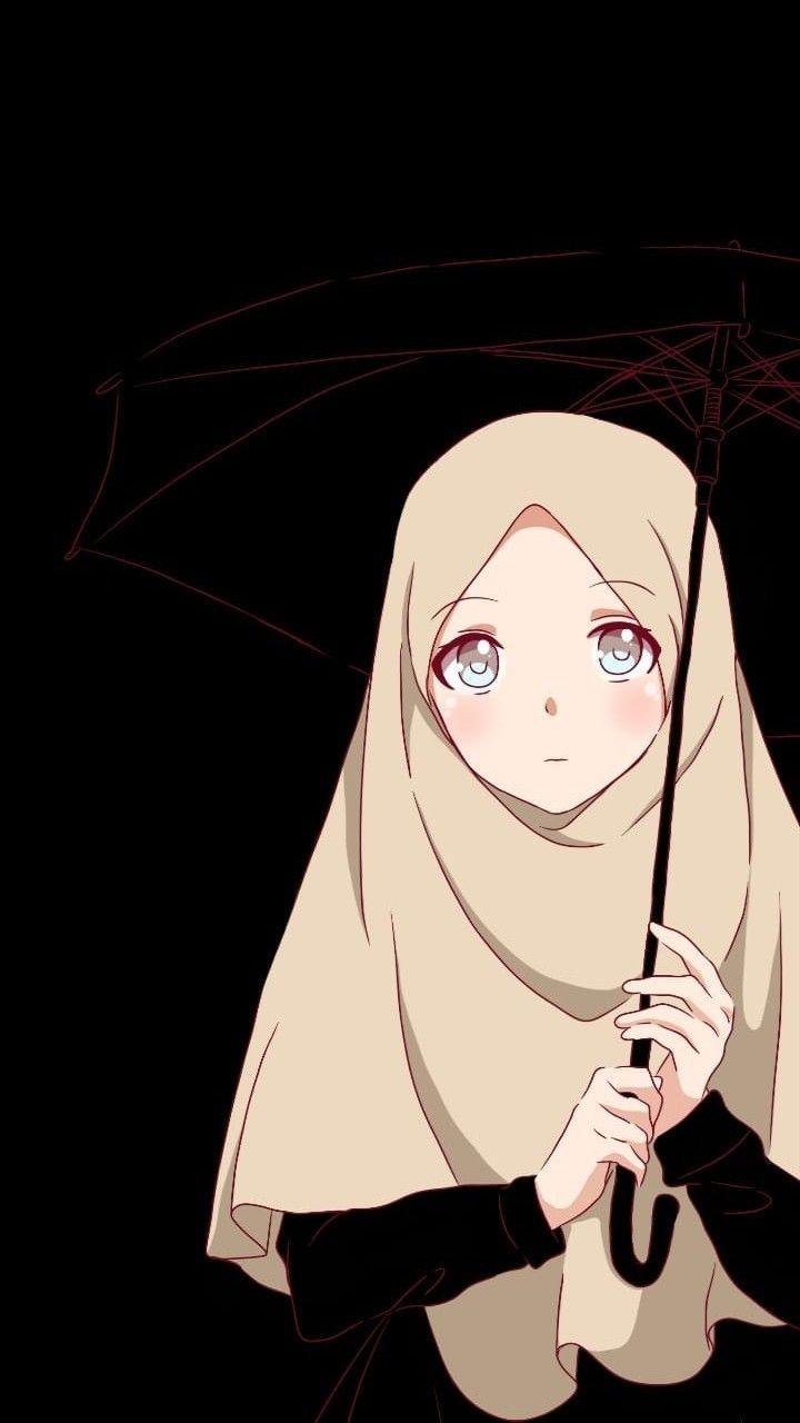 Pin By Aina Rahma On Anime Muslimah Elit Anime Muslim Anime Muslimah Islamic Cartoon