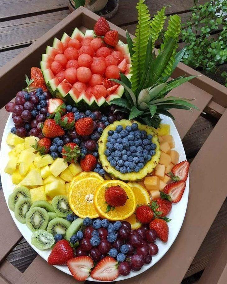 Mesa de frutas: Como Montar, Dicas + 70 Ideias e Fotos ��
