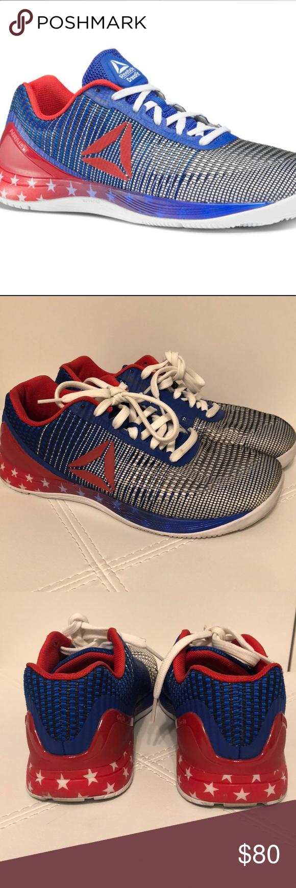 Crossfit Nano 7 weave shoes Women's size 9. Crossfit Reebok