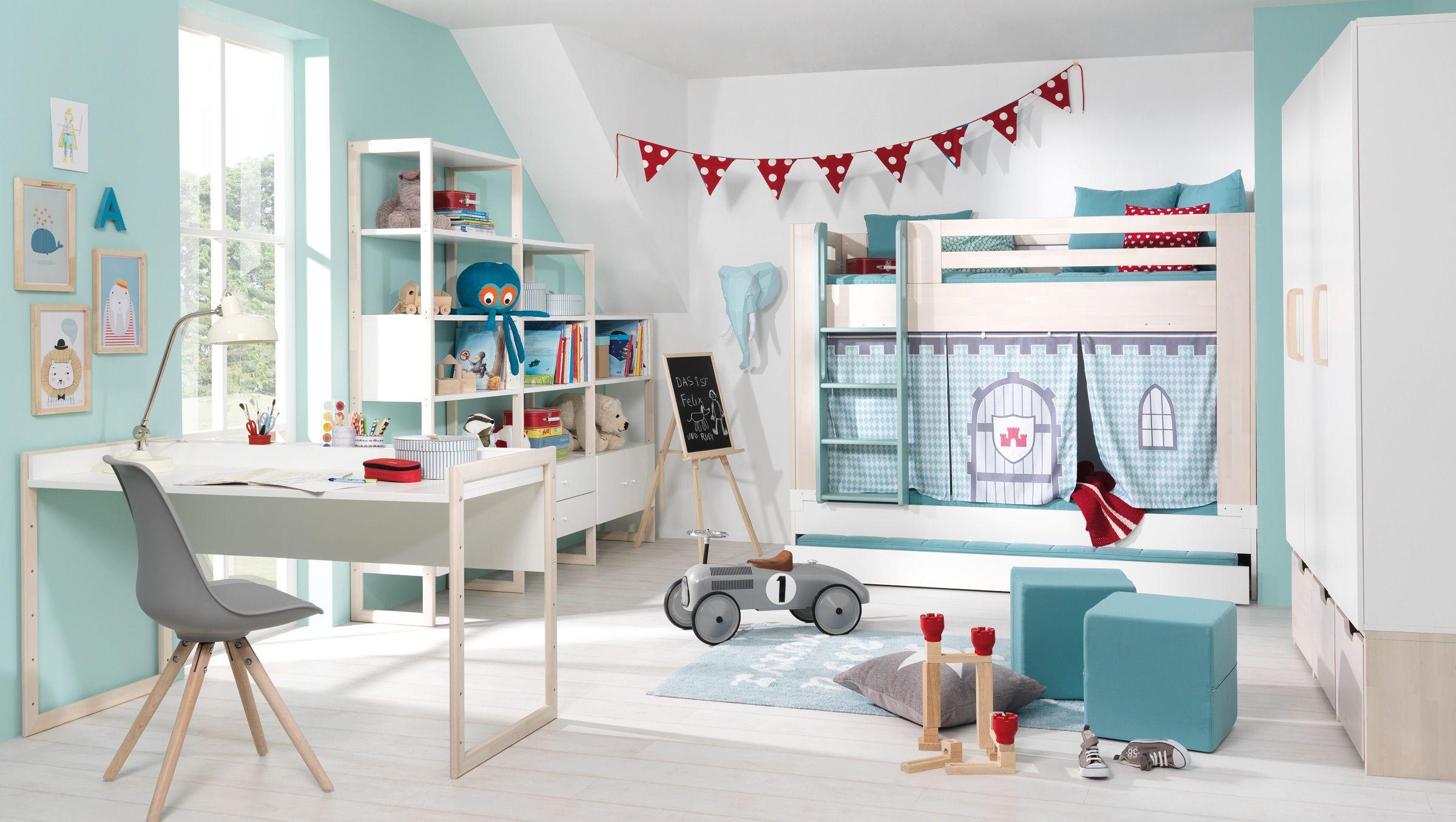 Wundervoll helle Farben! Kinderzimmer Jungs Pinterest