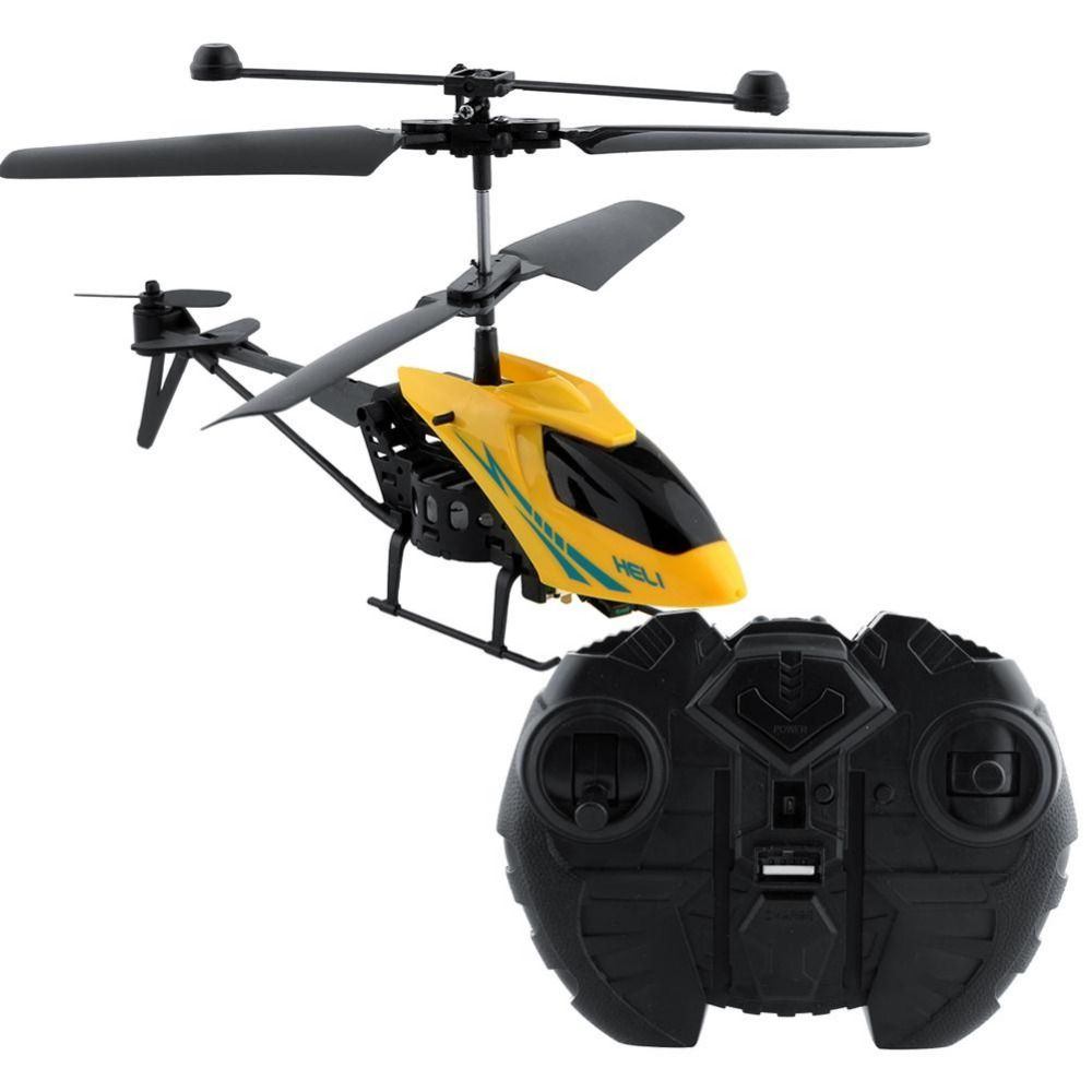 Shatter Resistant Radio Remote Control Aircraft 2.5CH I/R RC Quadcopter Helicopter Drones Kids Toys For Children Gift