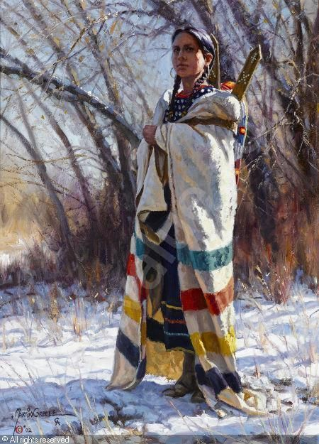 Winter's Blanket, 2002 by Ray Swanson, 1937-2004 (USA)