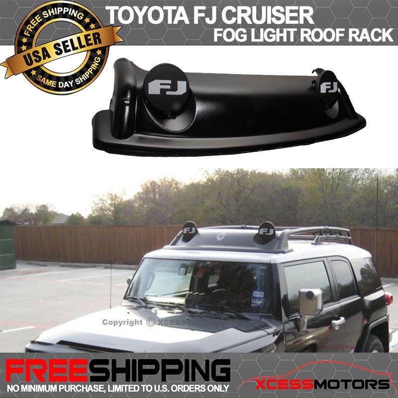 Fits 07 11 Toyota Fj Cruiser Oe Style Fog Light Roof Rack Air Dam Cover Kit Bar Fj Cruiser Toyota Fj Cruiser Cruisers