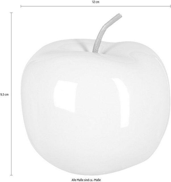 Keramik Deko Apfel Pearl Efct 3er Set Home Affaire Apfel