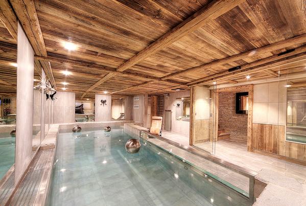 Relajante Haus Holzhaus Badezimmer