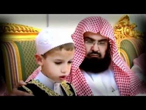 Sheikh Abdur Rehman Sudais February 2013 With the son of