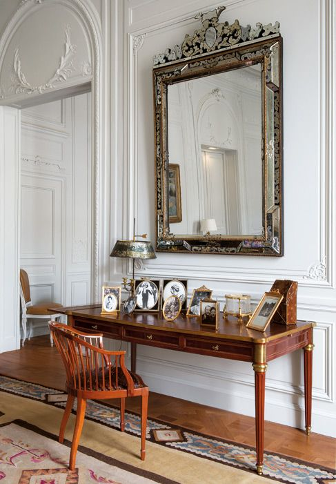 The Former Couture Salon Of Christian Dior Transformed Into An Apartment Prive By Peter Marino Home Home Decor Interior