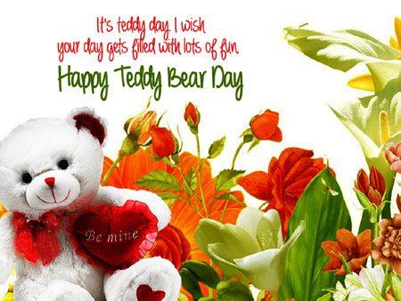 Happy teddy day cards valentines day pinterest teddy bear happy teddy day cards m4hsunfo