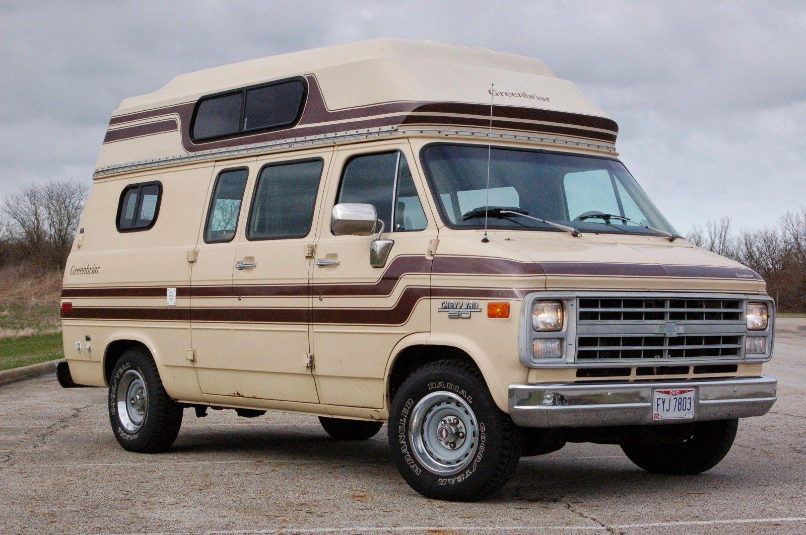 1985 Chevrolet G20 Greenbriar Van