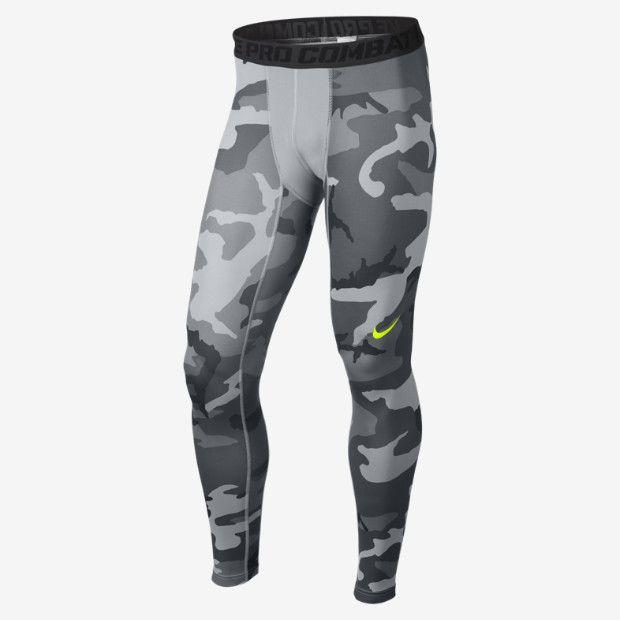 d0bb3dd9e7 Nike Pro Combat Core Compression Camo Men's Tights | Sports Board ...