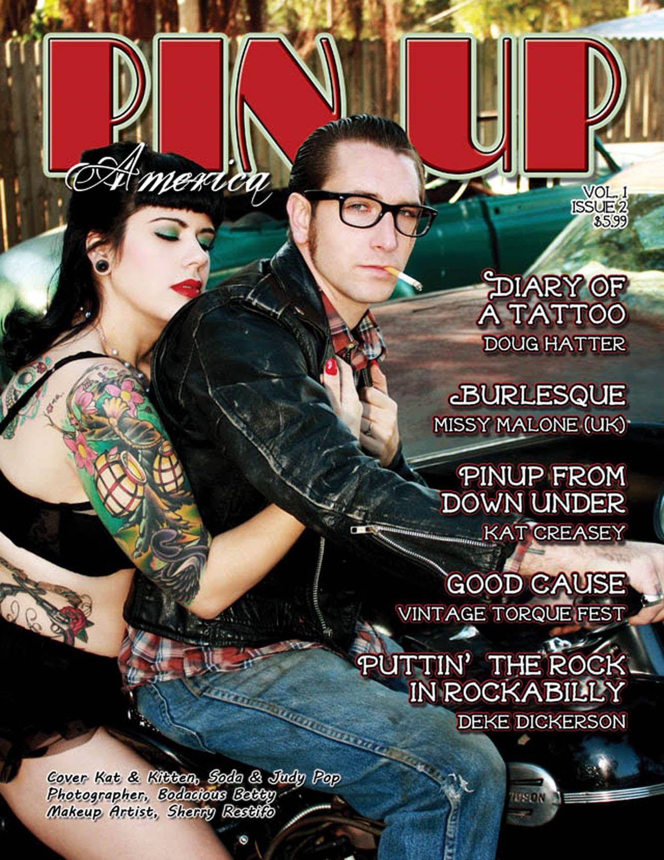 Issue #2, Judy & Soda Pop