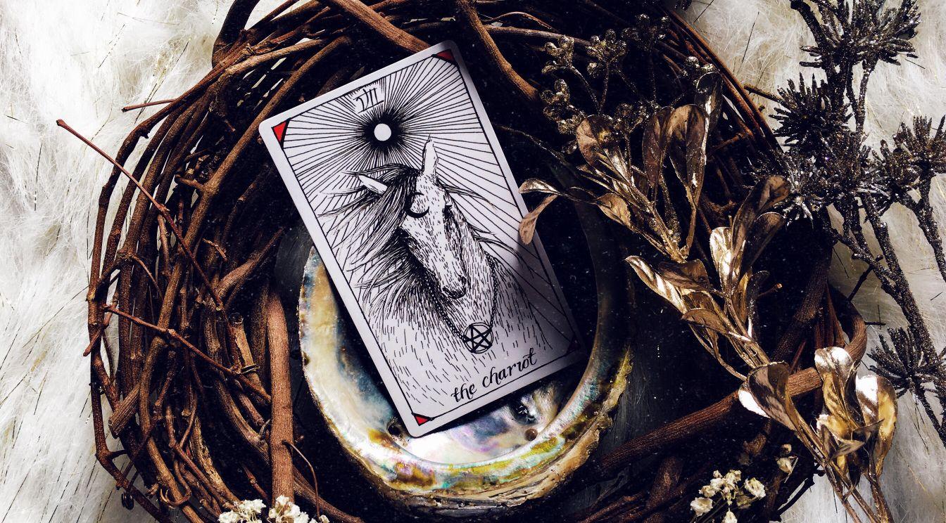 tarot card 7 major arcana