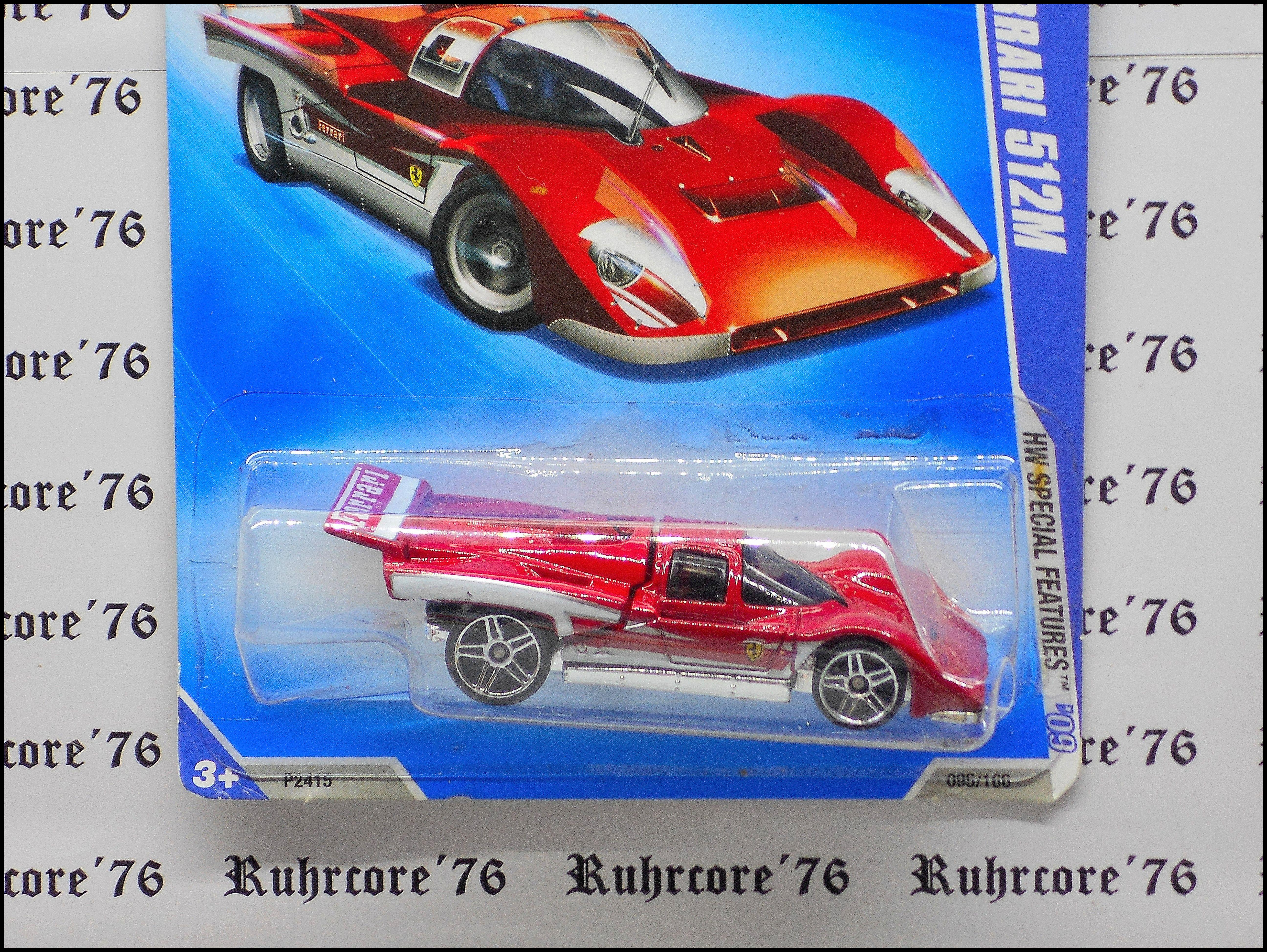 Hot Wheels Ferrari 512m