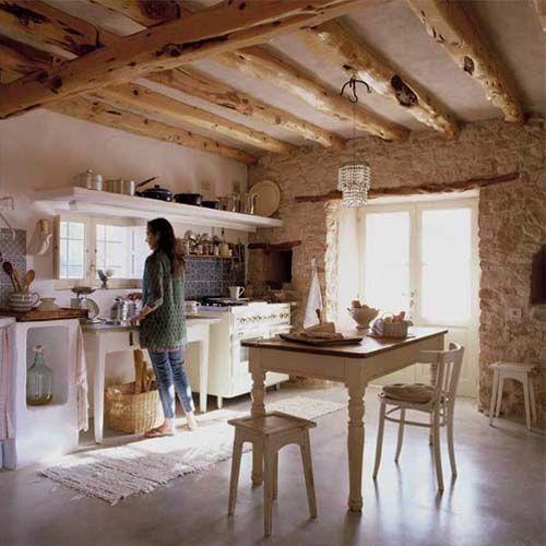 Cocina de enamorar en Formentera | Cocinas | Pinterest | Enamorado ...