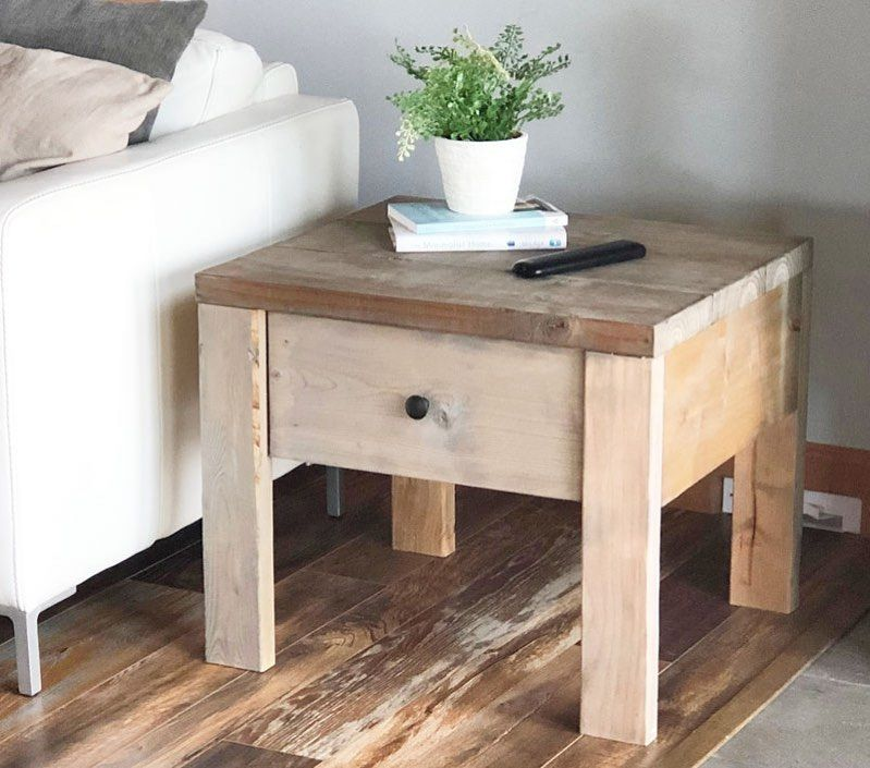 Ana white on instagram need end tables with real drawers