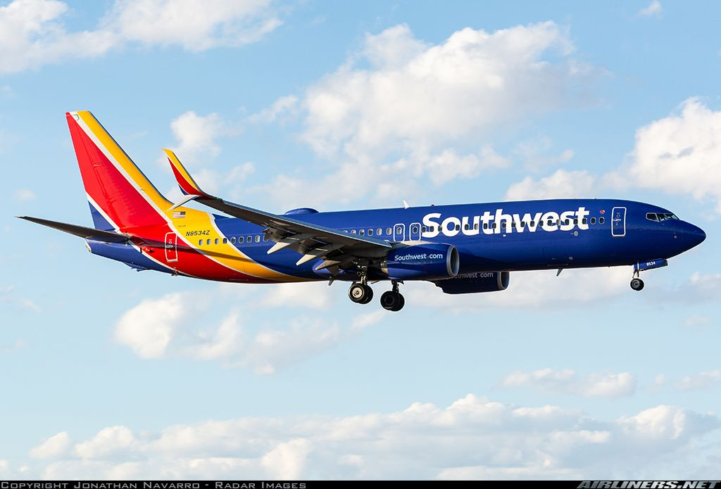 Boeing 737 800 Southwest Airlines Aviation Photo 5271299 Airliners Net Southwest Airlines Boeing Boeing 737