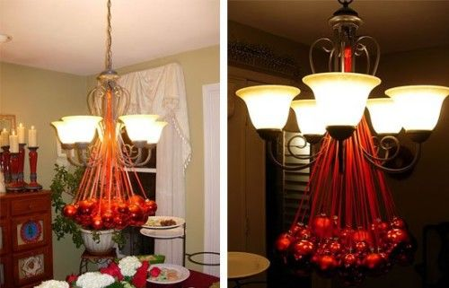 Chandelier ideas for Christmas