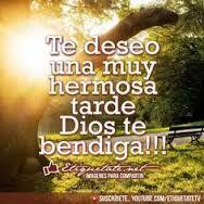 Te Deseo Una Hermosa Tarde Frases De Buenas Tardes Buenas