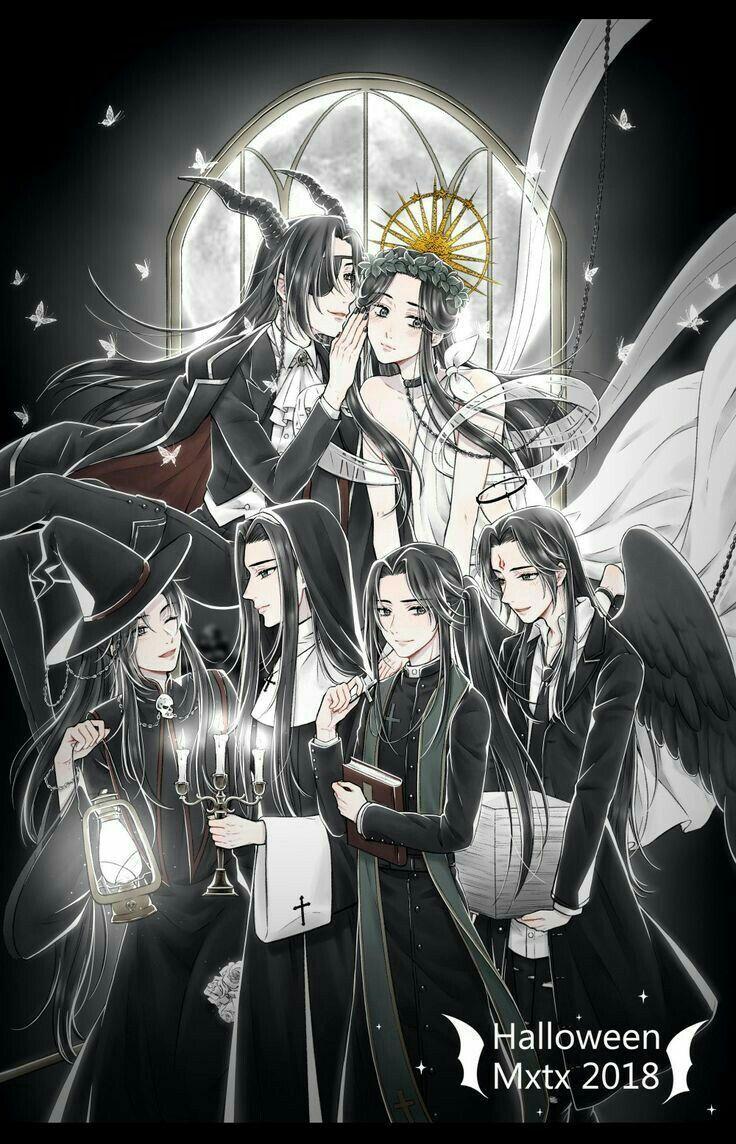MXTX (FanArt) | Chinese cartoon, Fan art, Gusu