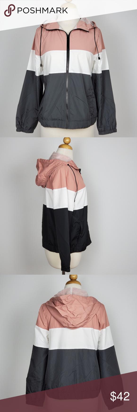 Ambiance Women S Windbreaker Hooded Jacket Coat Ambiance Women S Windbreaker Hooded Jacket Coat Drawstring Colo Womens Windbreaker Hooded Jacket Coats Jackets [ 1740 x 580 Pixel ]