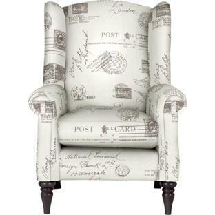 Longbourn Chair Script Dark Feet From Homebase.co.uk