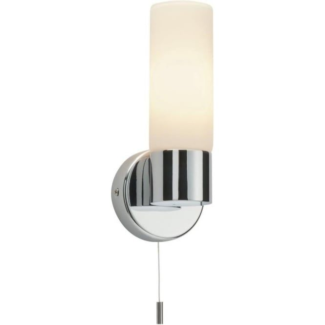 Endon 34483 pure 1 light switched wall light ip44 polished chrome endon 34483 pure 1 light switched wall light ip44 polished chrome aloadofball Image collections