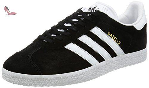 low priced 8b66f 38f20 adidas Gazelle, Sneakers Basses mixte adulte, Noir (Core Black White Gold