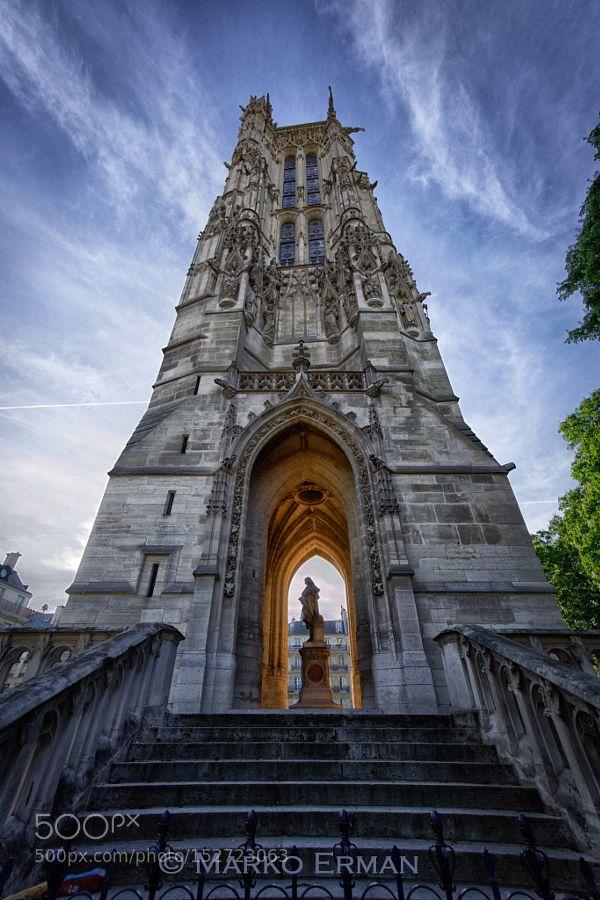 Tour Saint Jacques by markoerman