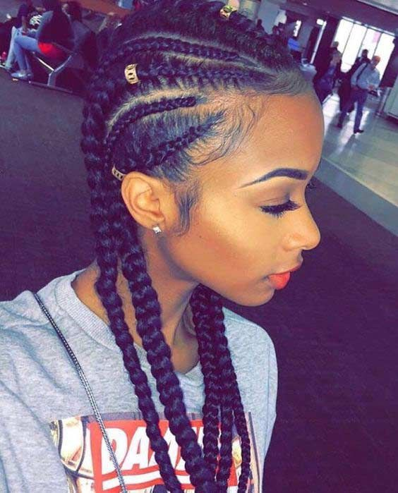 31 Cornrow Styles To Copy For Summer Hairstyles Pinterest