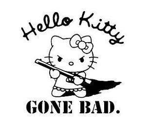 Bad Hello Kitty   Hello Kitty Gone Wrong Tophoid   Hello ...