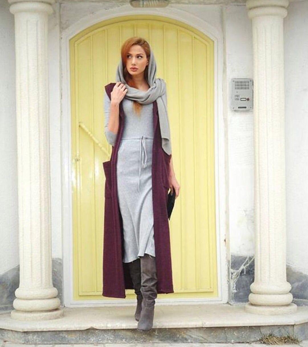 Iranian inspired fashion || iranian women fashion