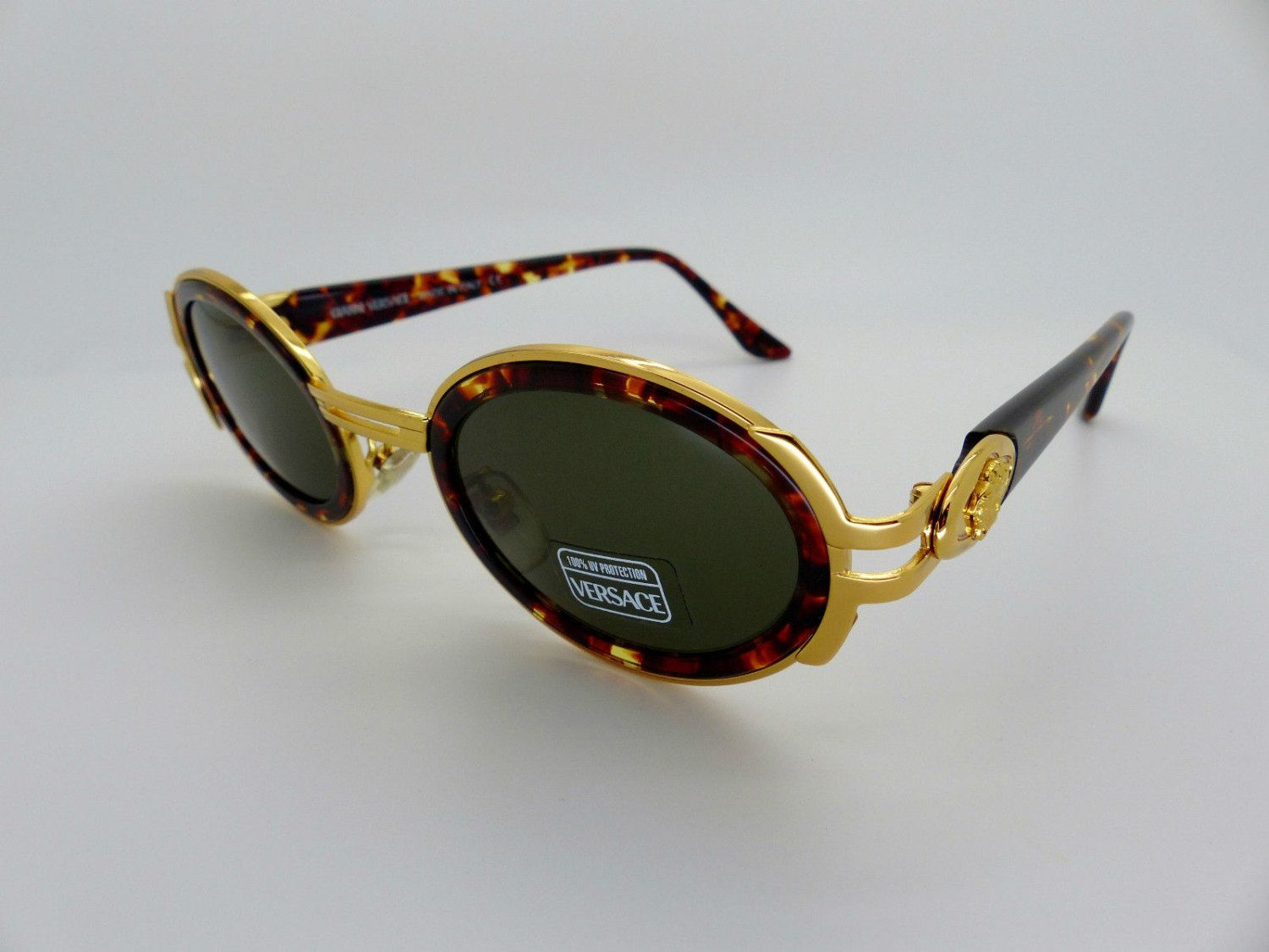 21f38a4eea55 Genuine Rare Vintage Gianni Versace Sunglasses Mod S02 Col A11 New Old  Stock by VSOx on Etsy