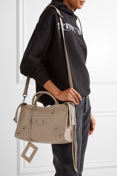 Sand leather (Calf) Two-way zip fastening along top Designer color: Beige Latte Weighs approximately 2lbs/ 0.9kg Made in Italy
