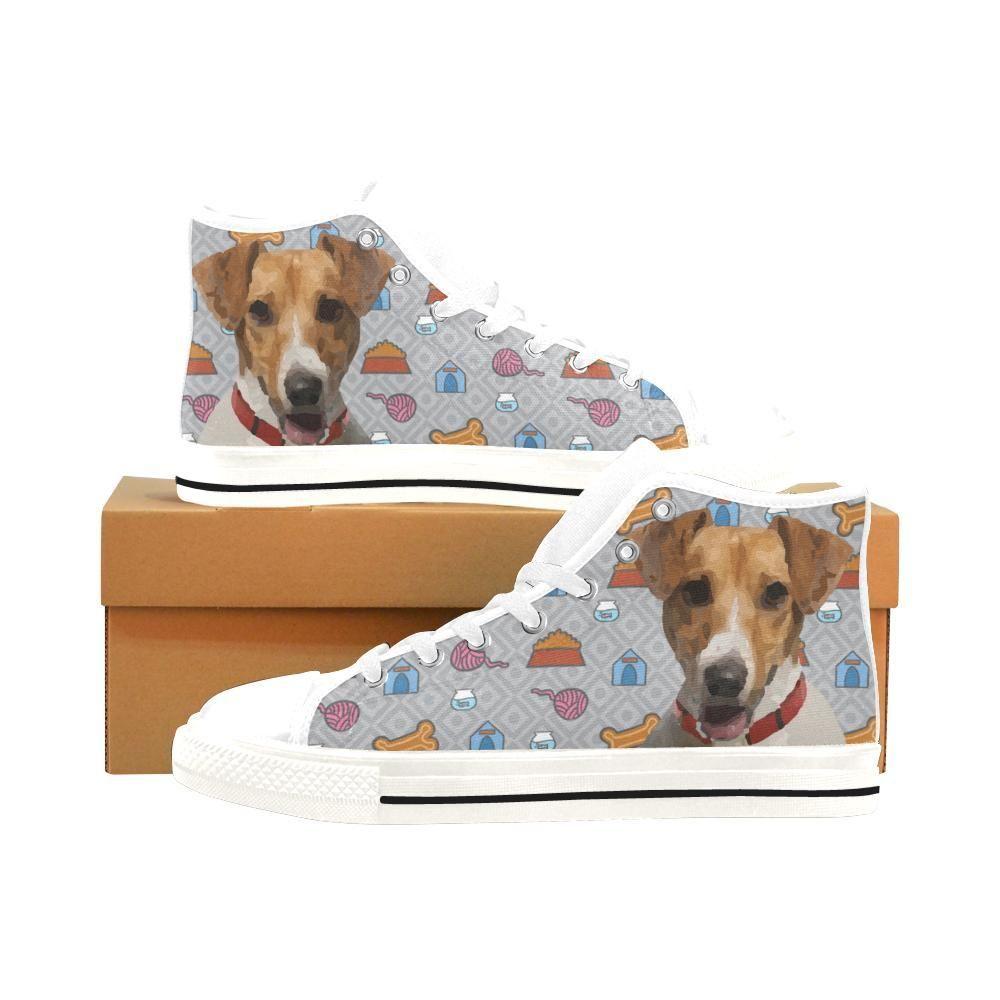 23931417788e TeeAmazing -  e-joyer Jack Russell Terrier White Men's Classic ...