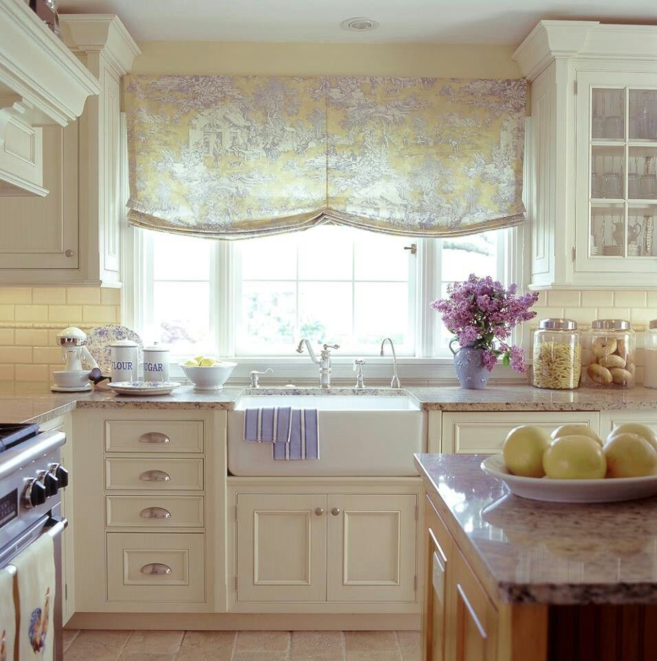French country kitchen green - French Country With Lavender Accents In The Kitchen