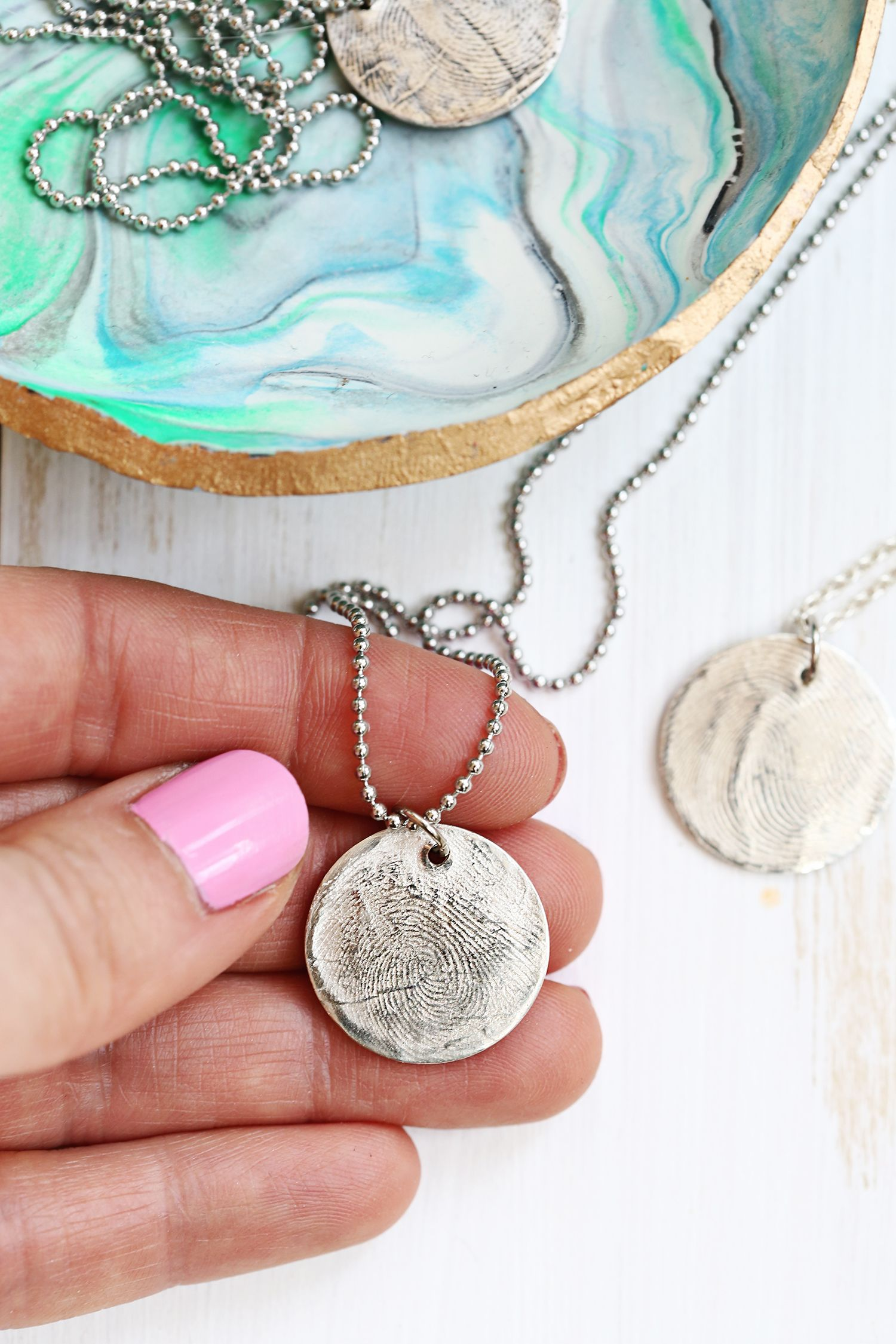 Have To Do This Use Metal Clay At Home Make A Pure Silver Fingerprint