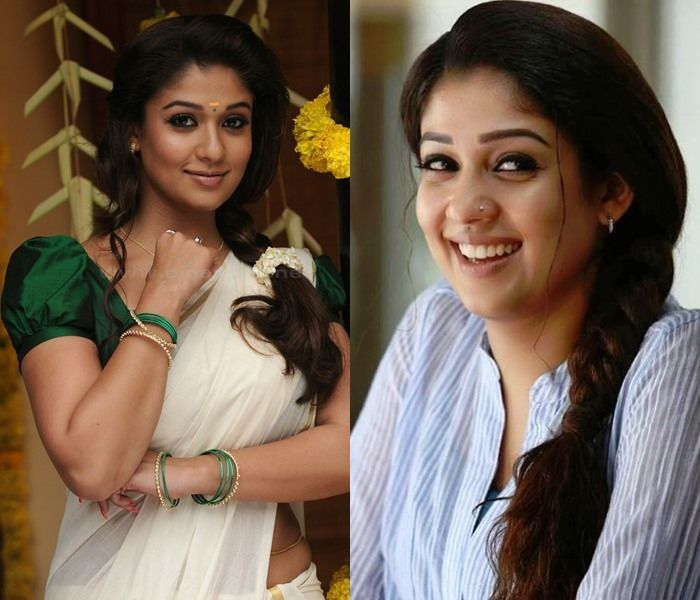 11 Best Hairstyles Of Actress Nayanthara Keep Me Stylish Nayanthara Hairstyle Cool Hairstyles Actresses