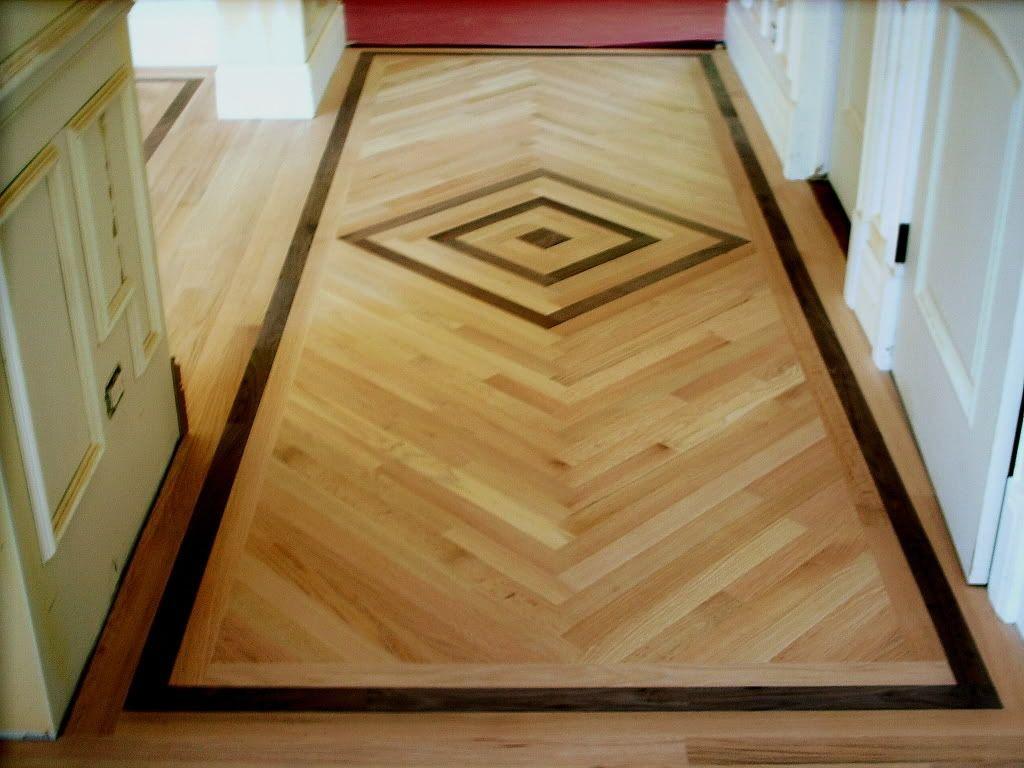 Inlaid Wood Flooring Design Ideas Floor Plans And Wood Like Tile