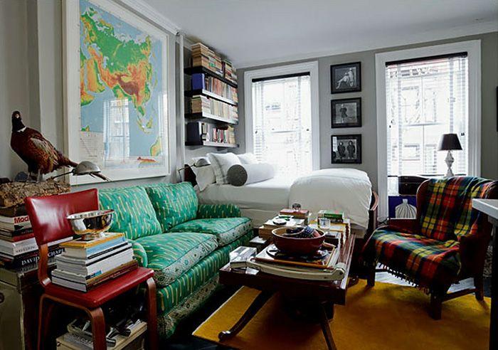 5 Super-Efficient Tiny New York Apartments Flats, Studio apartment