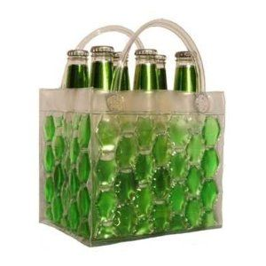 Chill It 6 Green - Freezable Chill It 6-Pack Bag