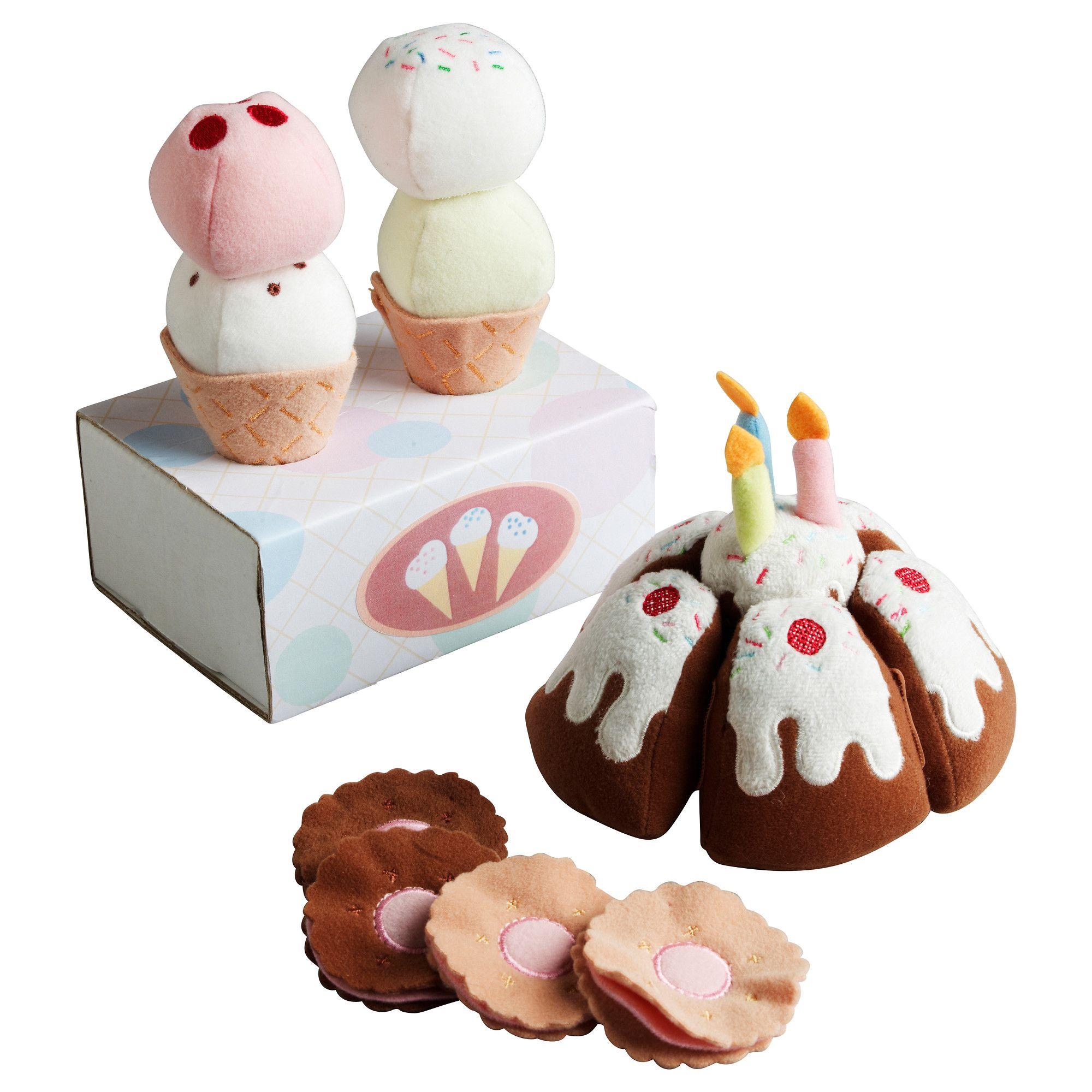 $7.99 DUKTIG 18-piece dessert set - IKEA | RIO 4 BDAY/XMAS ...