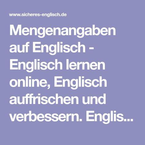 Umrechnung Englisch